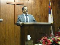 Jose Padilla preaching