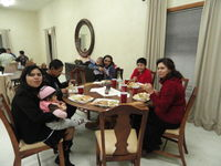 families at Dinner