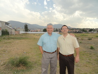 with missionary Mark Lockhart