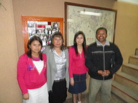 student now pastor Nuberto y Reyna and family